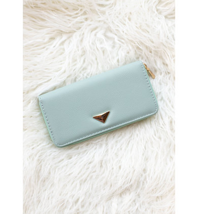 RIGHT ROUND WALLET - MINT