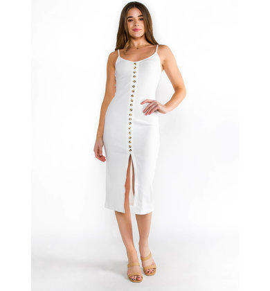 OUT IN THE SUN MIDI DRESS