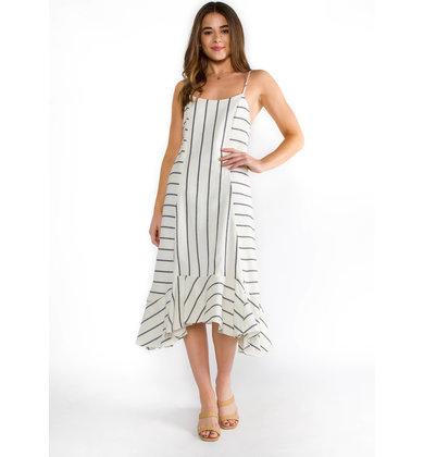 BEACH ENTHUSIAST MIDI DRESS