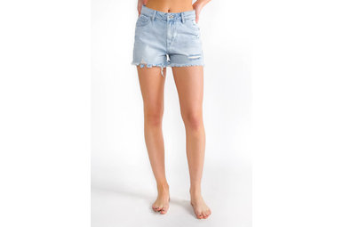HIGH TIDE DISTRESSED SHORTS