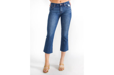 CALL IT A DAY CROPPED JEANS