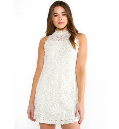 DEVOTED LACE SHIFT DRESS