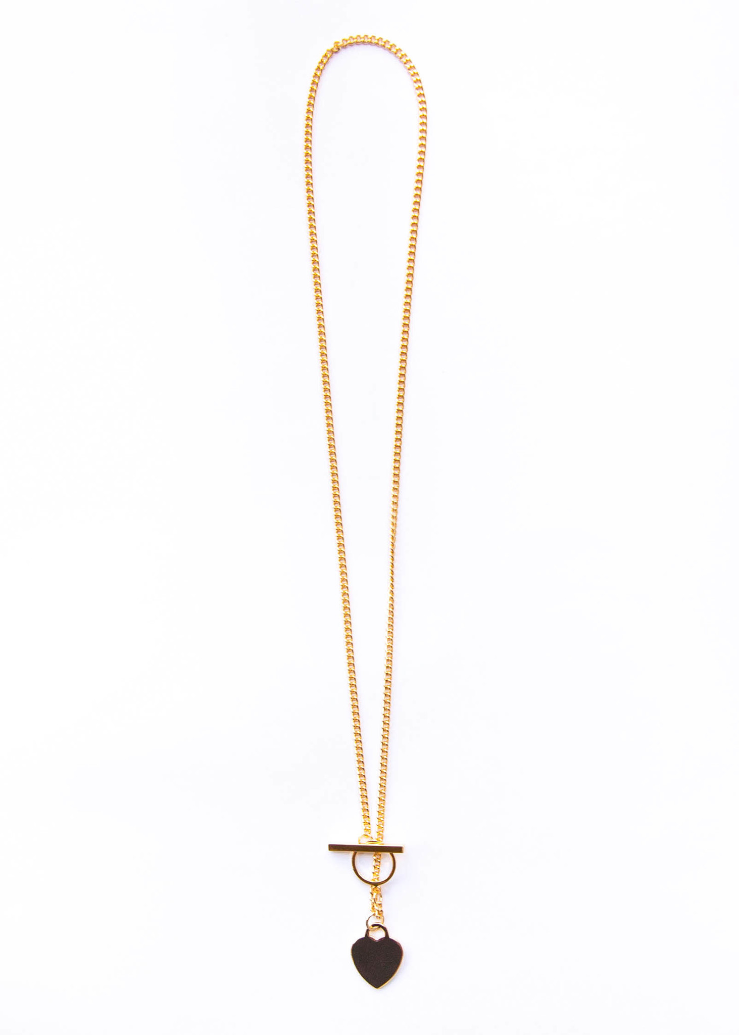 KIND HEART LARIAT NECKLACE