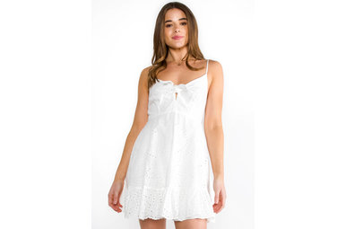 SWEET NOTHINGS EYELET DRESS