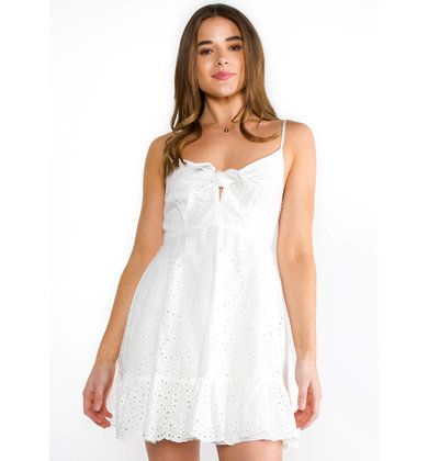 SWEET NOTHINGS EYELET DRESS