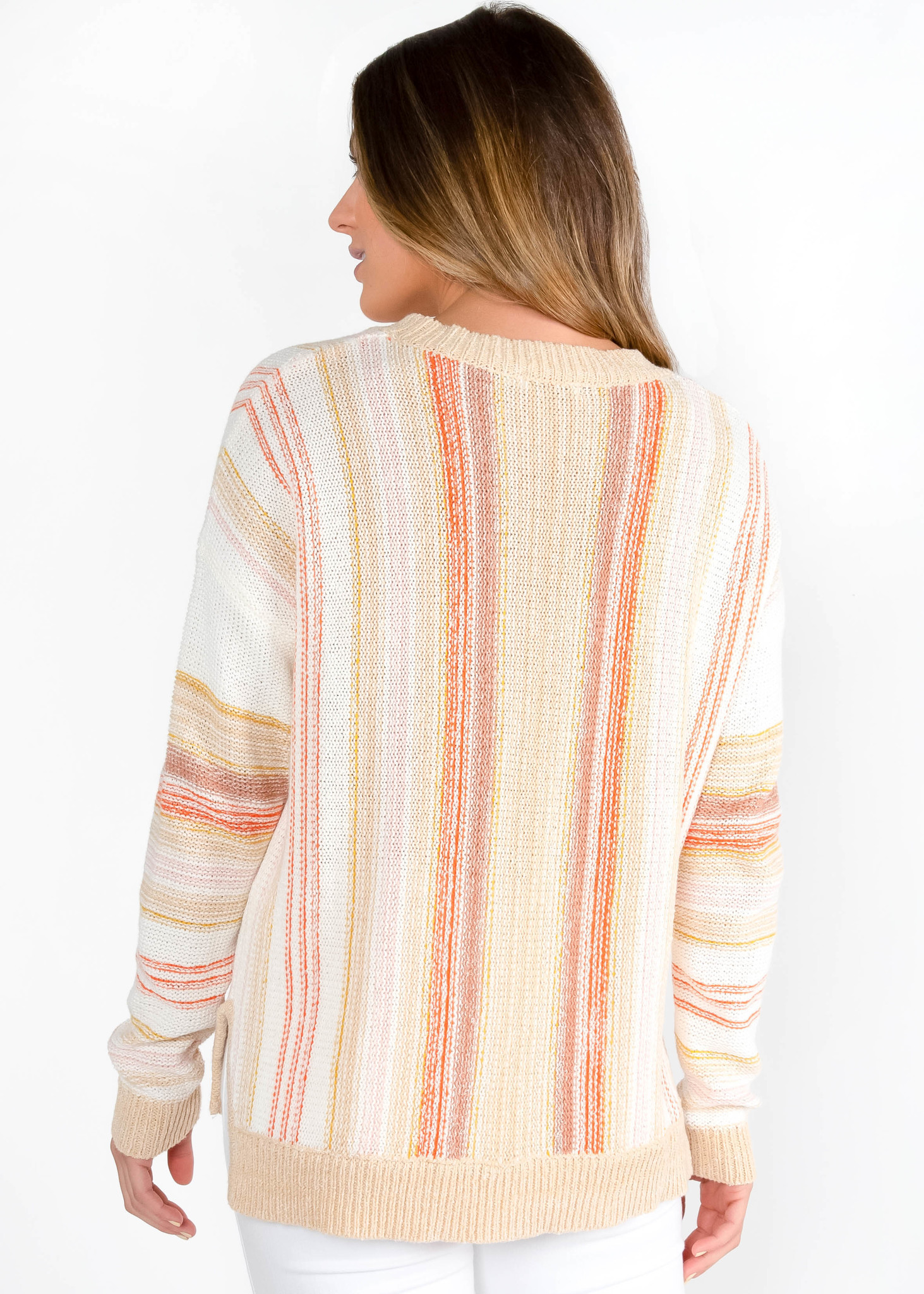 GOLDEN HOUR STRIPED SWEATER