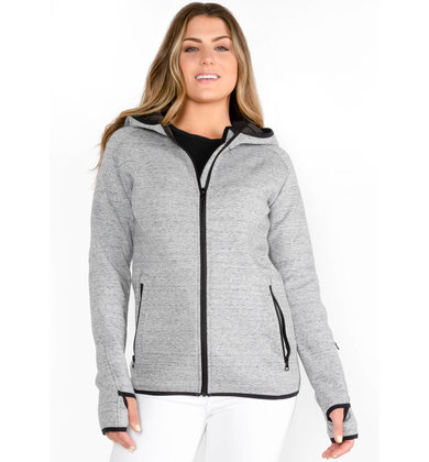 GET UP + GO ZIP UP SWEATSHIRT