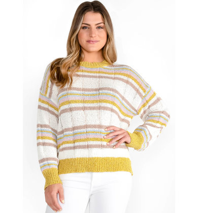 TASTE OF HONEY LIGHTWEIGHT SWEATER