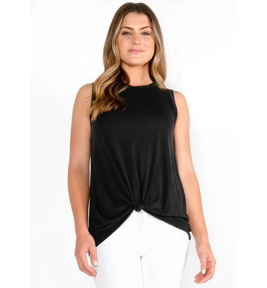 ALEJANDRA TANK TOP - BLACK