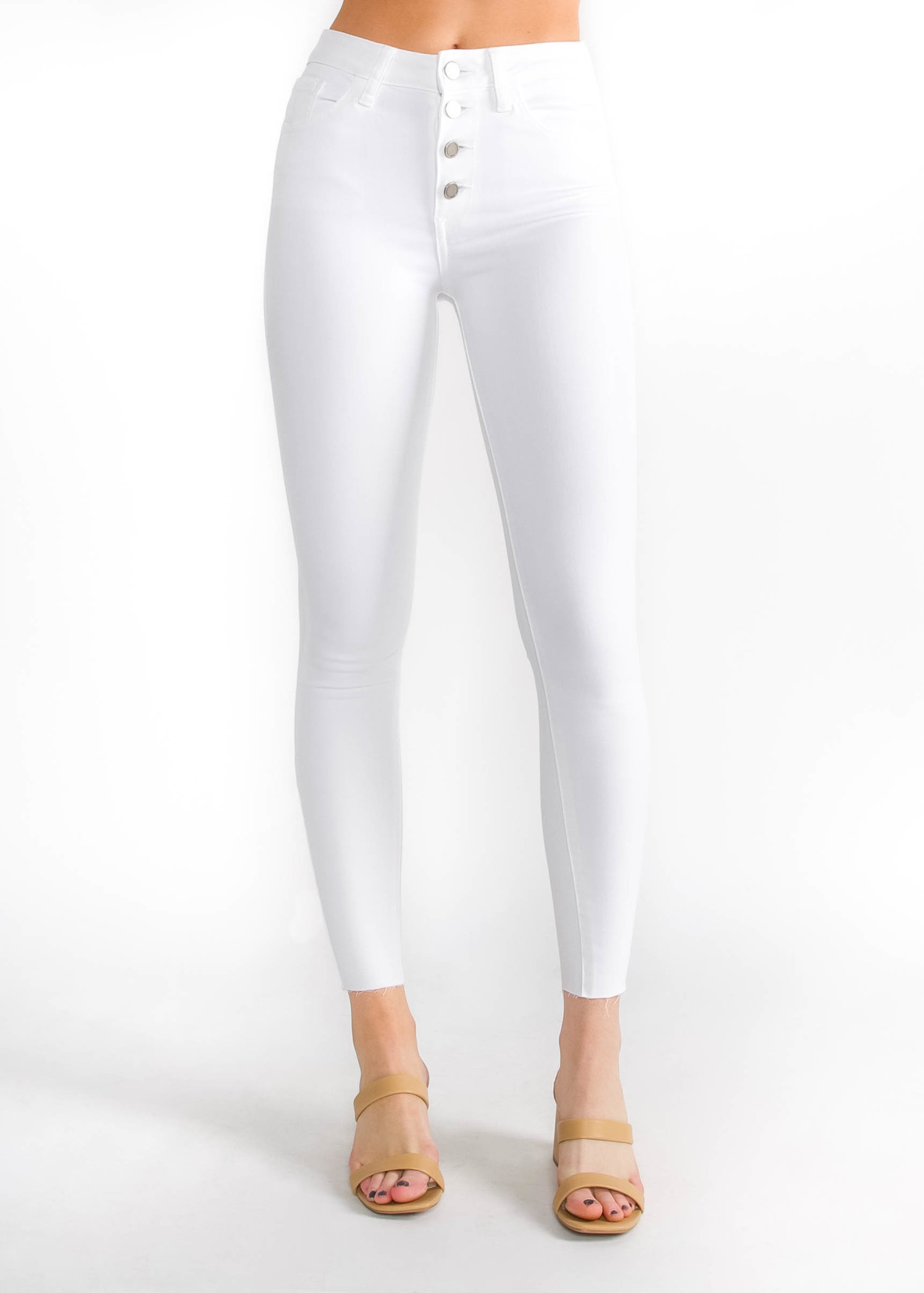 SUMMER CRUSH WHITE JEANS