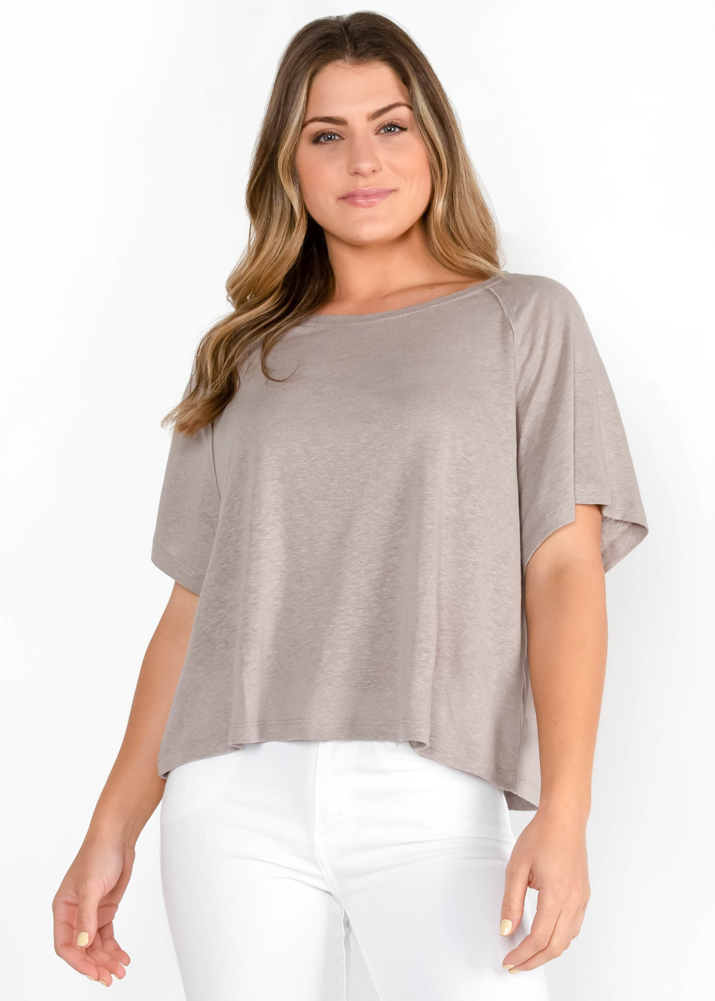 FOR THE WIN TAUPE T-SHIRT