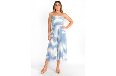 BLUE JAY STRIPED JUMPSUIT