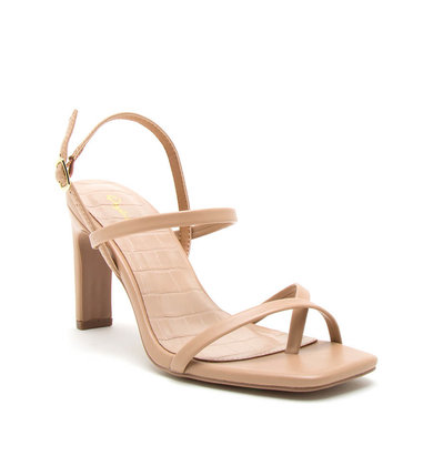 ANY DIRECTION HEELS - BEIGE