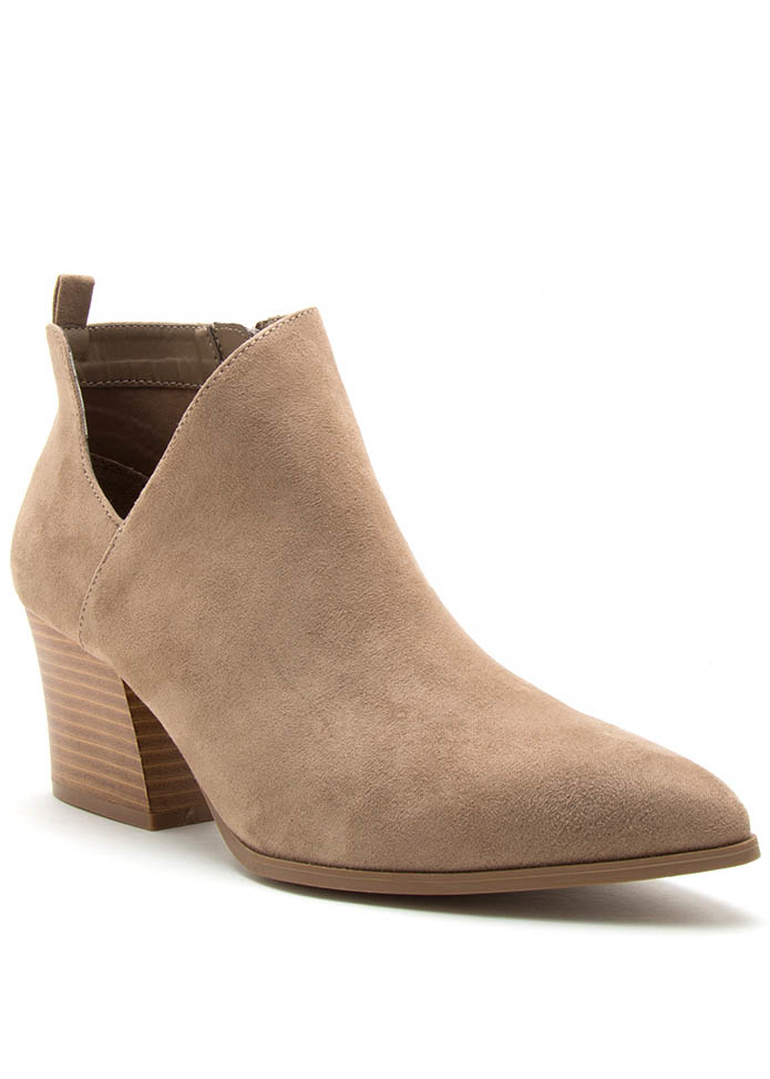 STICK TO THE BASICS BOOTIES