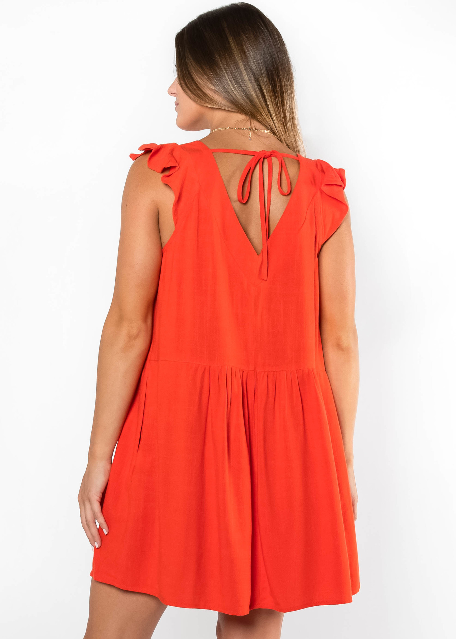 DREAMSTATE RED SHIFT DRESS