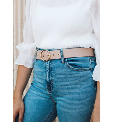 CITY LIGHTS BELT - TAUPE