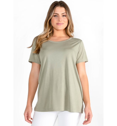 GALAPAGOS BACK CUTOUT T-SHIRT