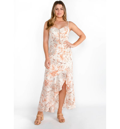 HEART SONG PRINTED MAXI DRESS