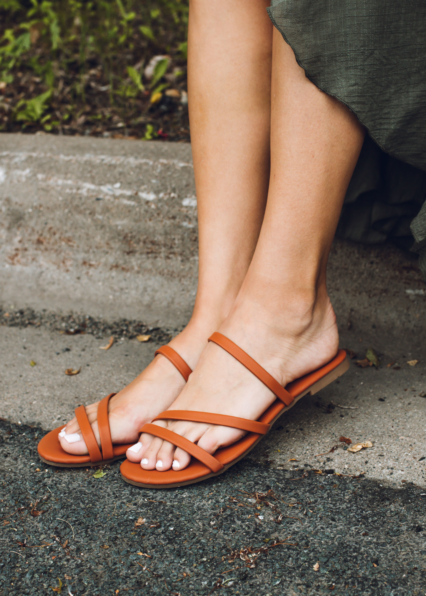 SAND IN MY SHOES SANDALS - COGNAC