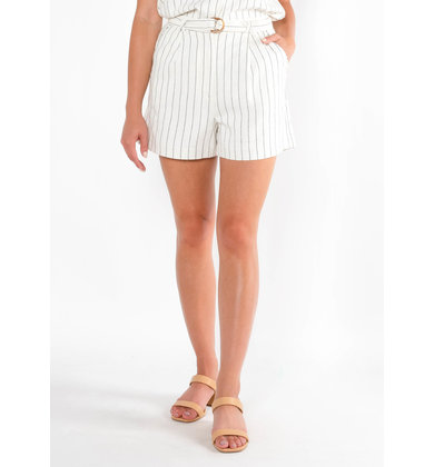 RAY OF SUNSHINE STRIPED SHORTS