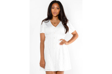TEN OUT OF TEN WHITE DRESS