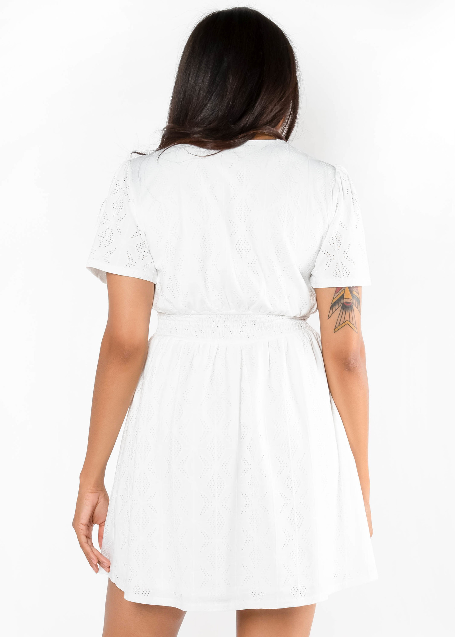TEN OUT OF TEN WHITE DRESS