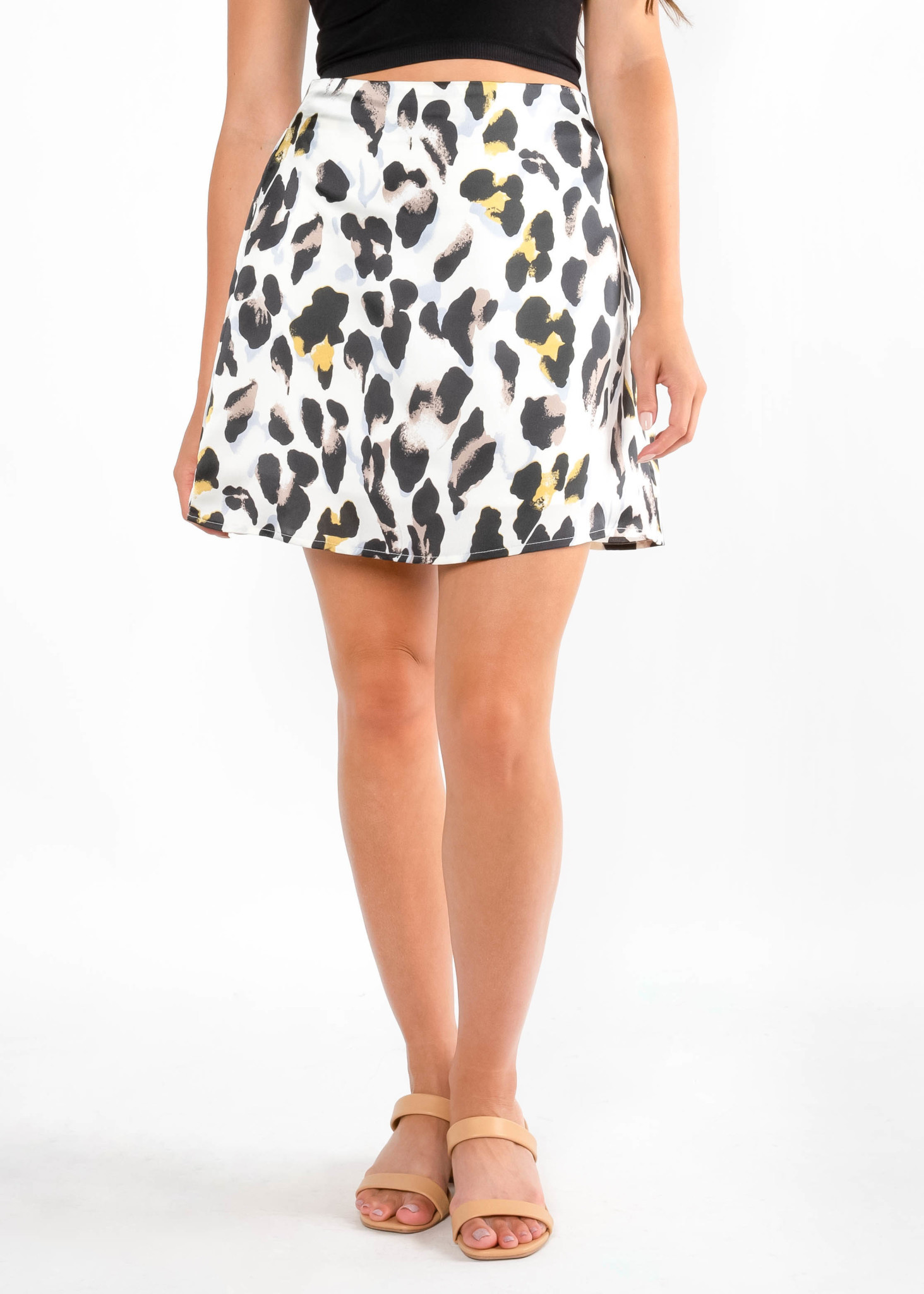 JOIN THE PARTY LEOPARD SKIRT
