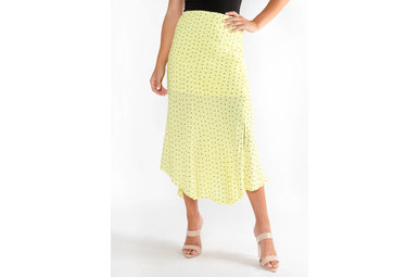 ENDLESS SUMMER NEON MIDI SKIRT