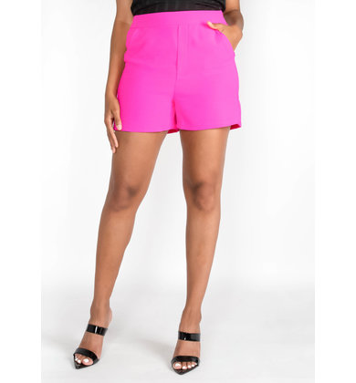 TWISTS + TURNS NEON SHORTS