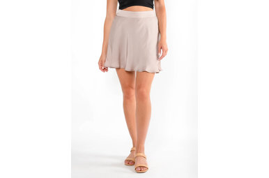 THREE STRIKES SKORT - MAUVE