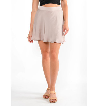 THREE STRIKES MAUVE SKORT