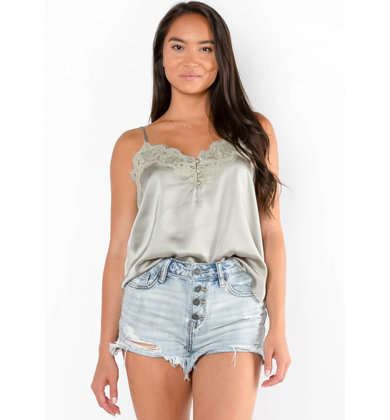 ISLAND IN THE SUN LACE TANK TOP