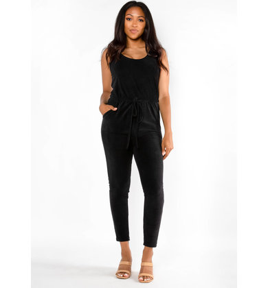 CAMPSITE JUMPSUIT - BLACK