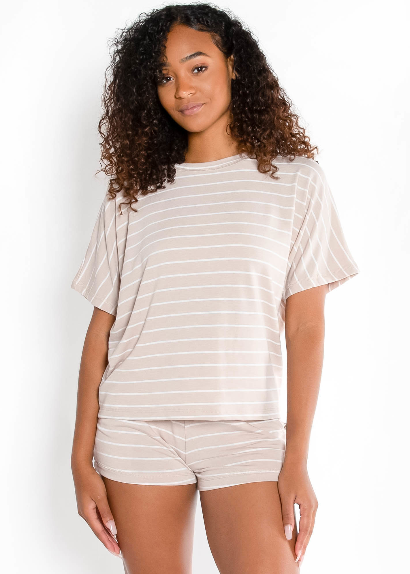 LIFE OF EASE STRIPED TOP