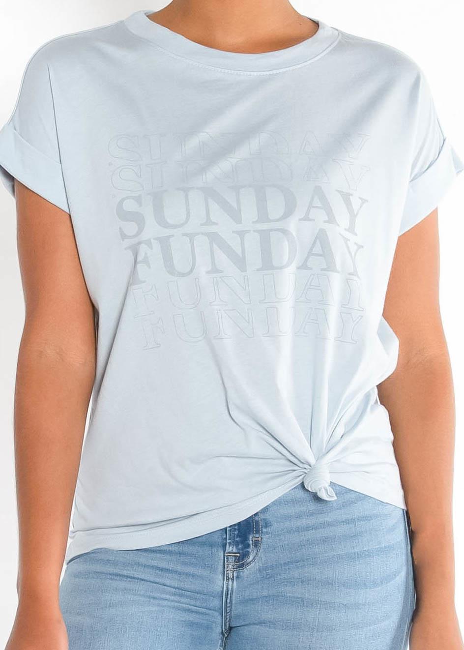 SUNDAY FUNDAY GRAPHIC TEE