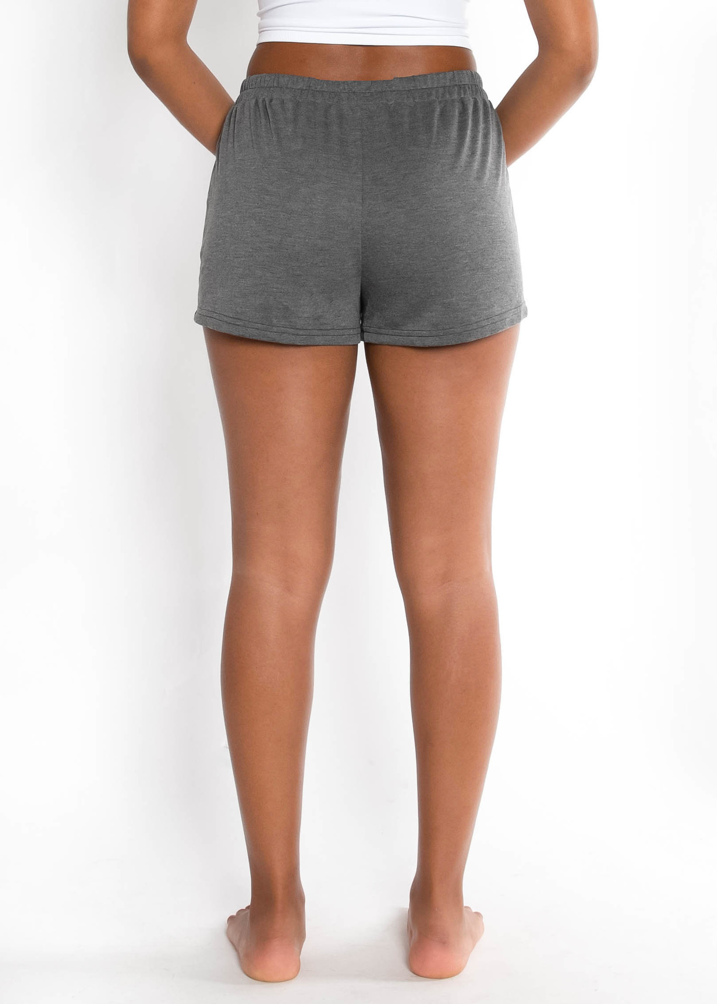 HIT SNOOZE SHORTS - CHARCOAL