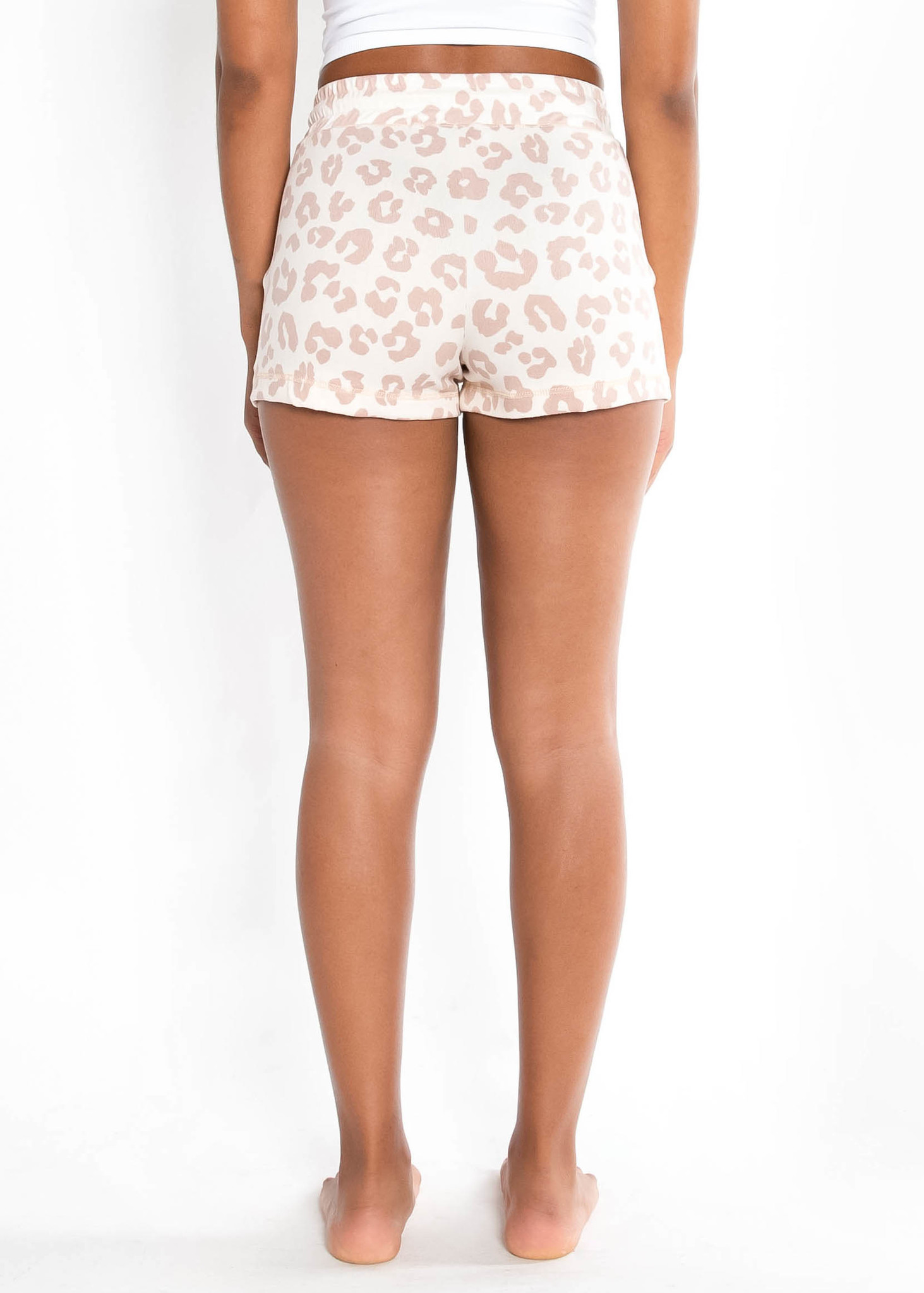 EARLY MORNING LEOPARD SHORTS