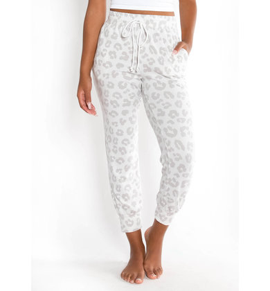 WISHING STAR LEOPARD JOGGERS