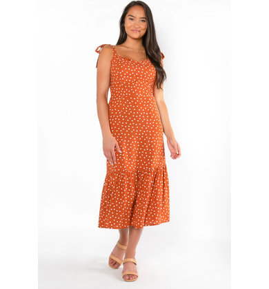 BARBADOS POLKA DOT DRESS
