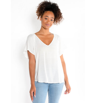 SUNKISSED BLOUSE - WHITE