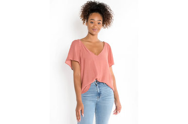 SUNKISSED BLOUSE - ROSE