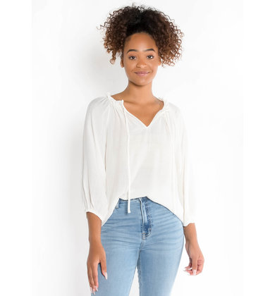 SOUL OF SUNSHINE WHITE BLOUSE