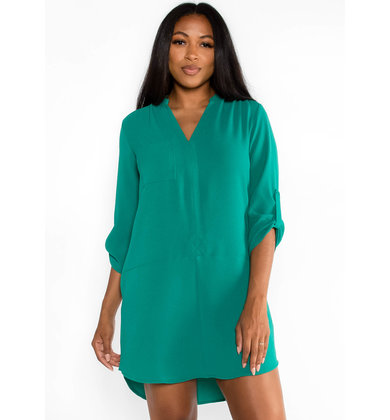 WITHOUT WARNING SHIFT DRESS