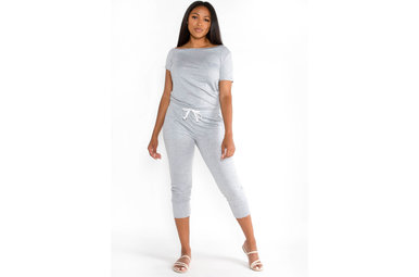 SIRENA JUMPSUIT - GREY