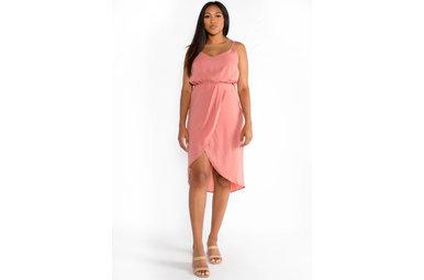 SARASOTA SUNSET HIGH LOW DRESS