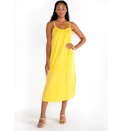 STEAL MY SUNSHINE MIDI DRESS