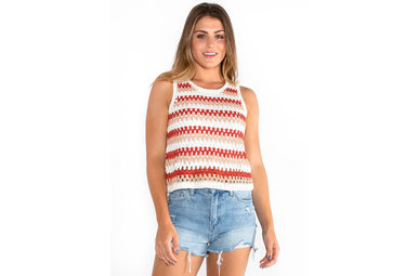 FARMER'S MARKET KNIT TANK TOP