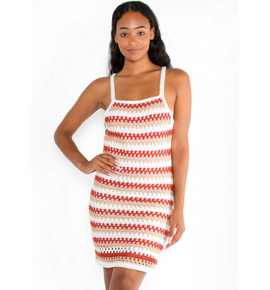 AFTERNOON AIR KNIT DRESS