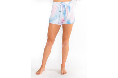 RUMORS TIE DYE LOUNGE SHORTS