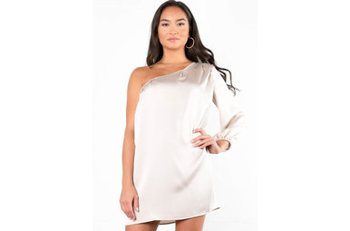 POP THE BUBBLY SHIFT DRESS